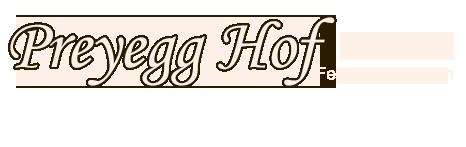 Preyegg Hof - Feerienwohnungen